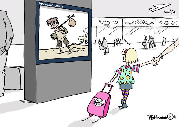 Flucht Kinder